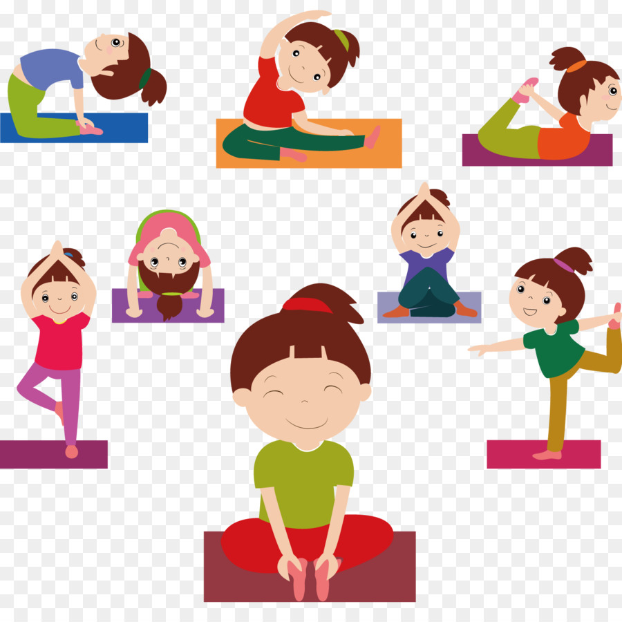 Children Silhouette Png Download 1500 1500 Free Transparent Yoga Png Download Cleanpng Kisspng