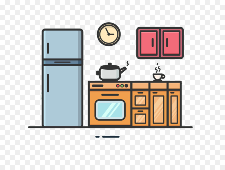 Kitchen Cartoon Png Download 1333 1000 Free Transparent