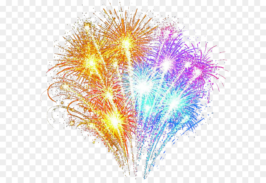Adobe Fireworks - Schöne bunte Feuerwerk png herunterladen ...