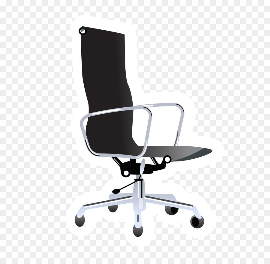 Buro Stuhl Mobel Clipart Vektor Schwarz Burostuhl Png