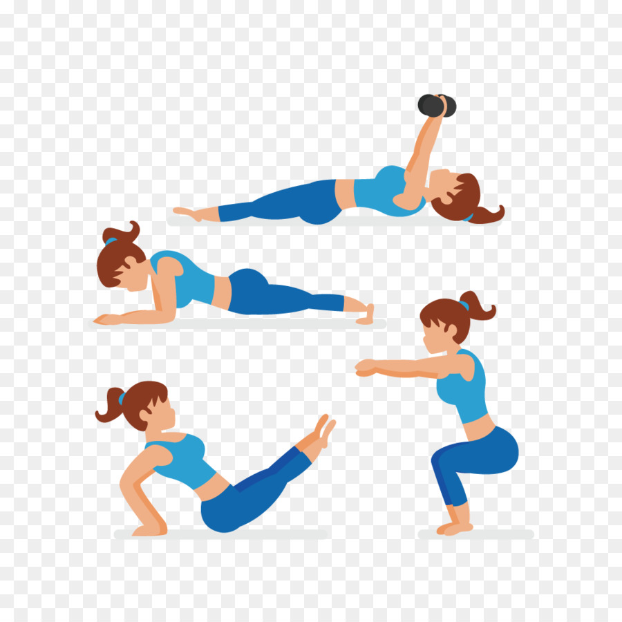 Woman Cartoon Png Download 1000 1000 Free Transparent Stretching Png Download Cleanpng Kisspng