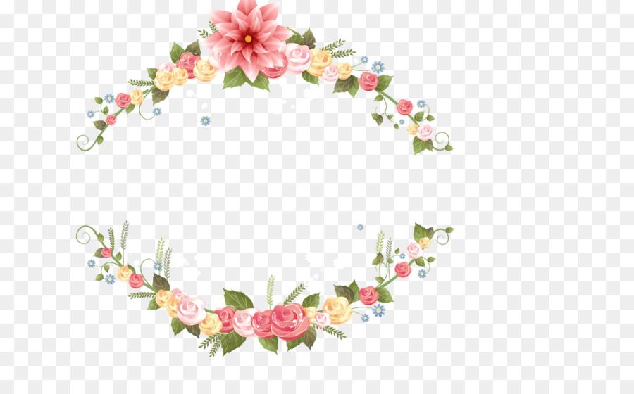 Floral Wedding Invitation Background Png Download 982600