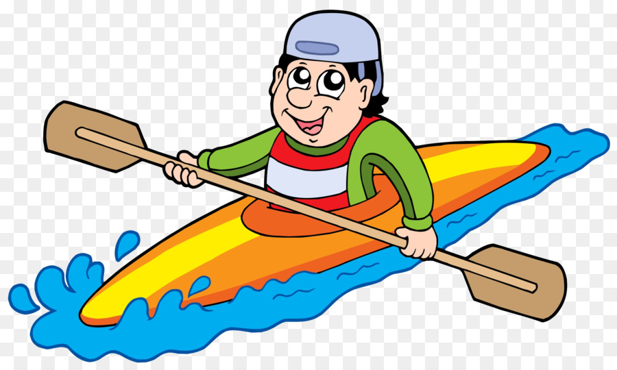 Kayaking Clipart Pirogue - Canoe Transparent Clipart , Free Transparent  Clipart - ClipartKey