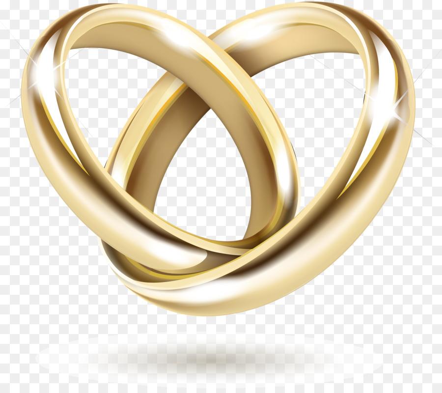 Hochzeit Einladung Gold Hochzeit Ring Vektor Gold Ring Png