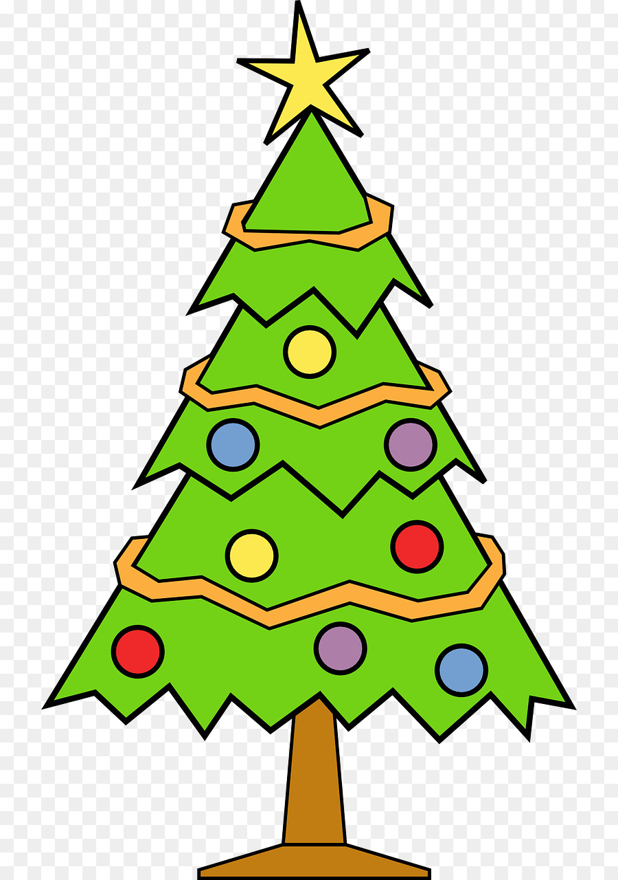 Christmas Tree Kostenloses Content Clipart Cartoon