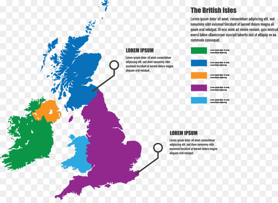 England British Isles Map Stock-Fotografie - Farbe Karte png ...