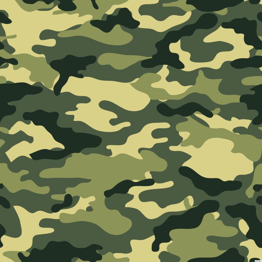 Militar Nahtloses Muster Illustration Premium Vektor