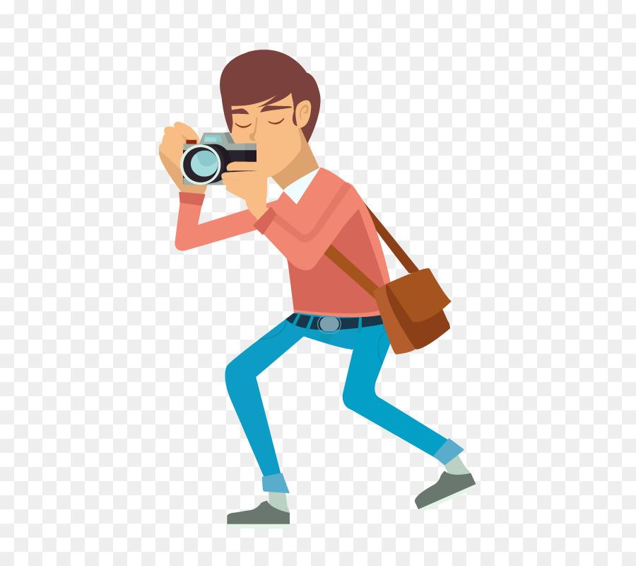 картинка мужчина с фотоаппаратом вектор зеленовато-желтая