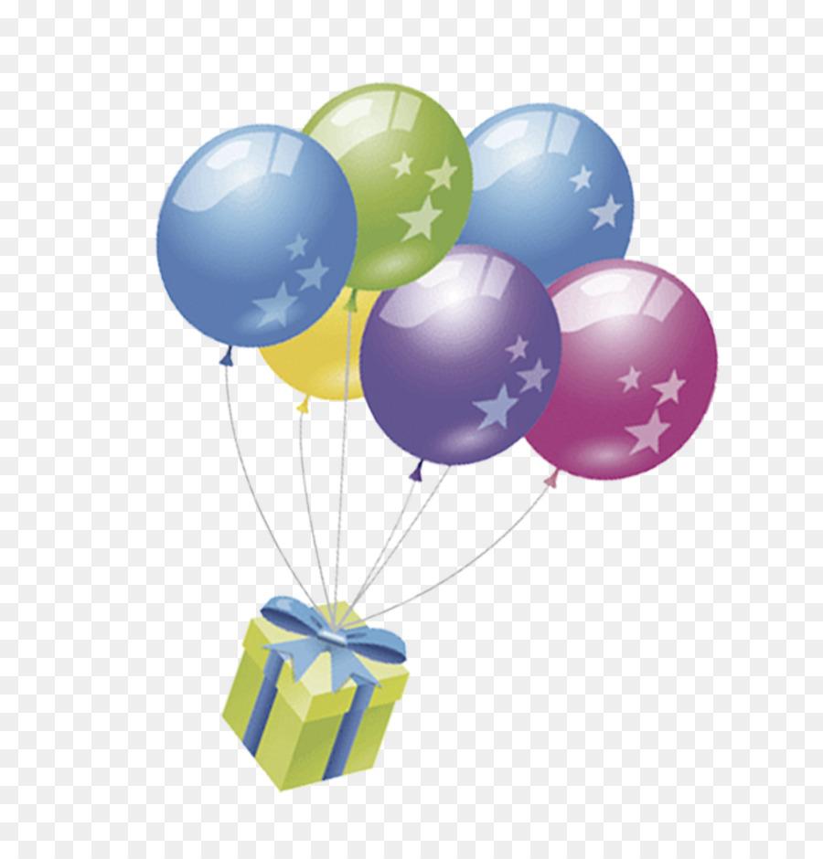 Открытки с шариками и подарками