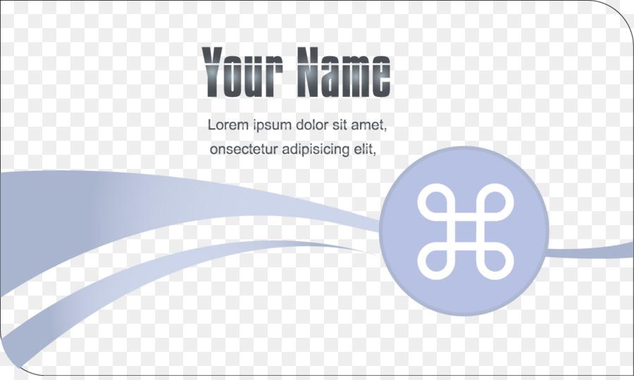 Visitenkarte Kreativität Designer Logo Creative