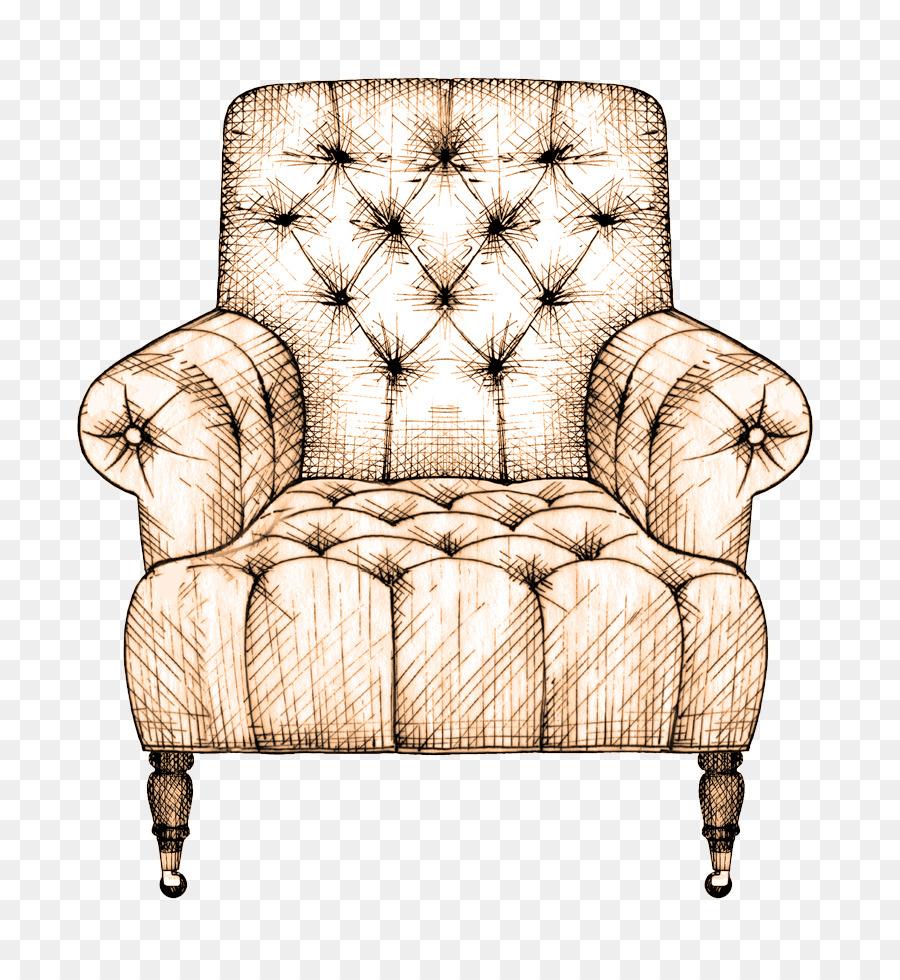 Zeichnung Couch Interior Design Services Stuhl Skizze