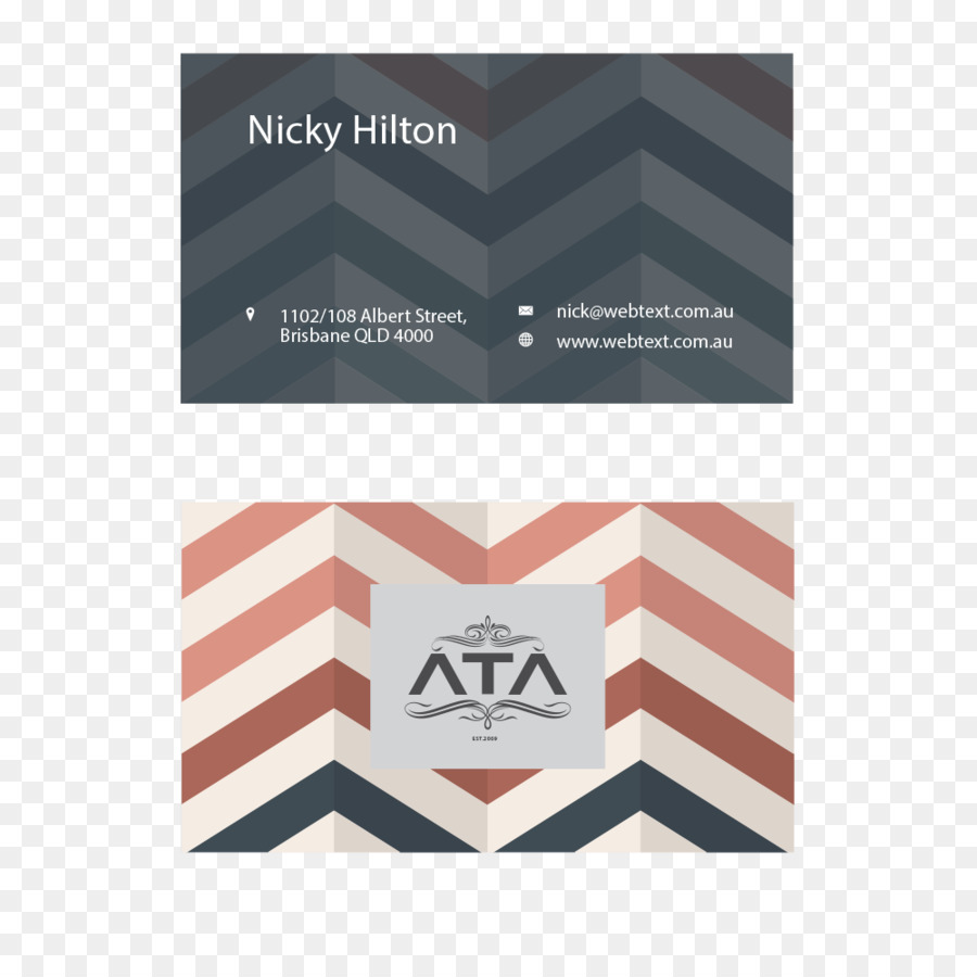 Papier Visitenkarte Design Visitenkarte Creative