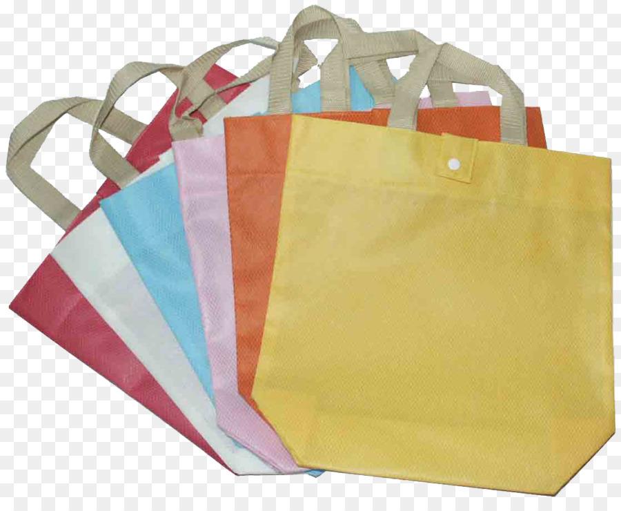 Tessuto di plastica riutilizzabile Shopping Tote Bag