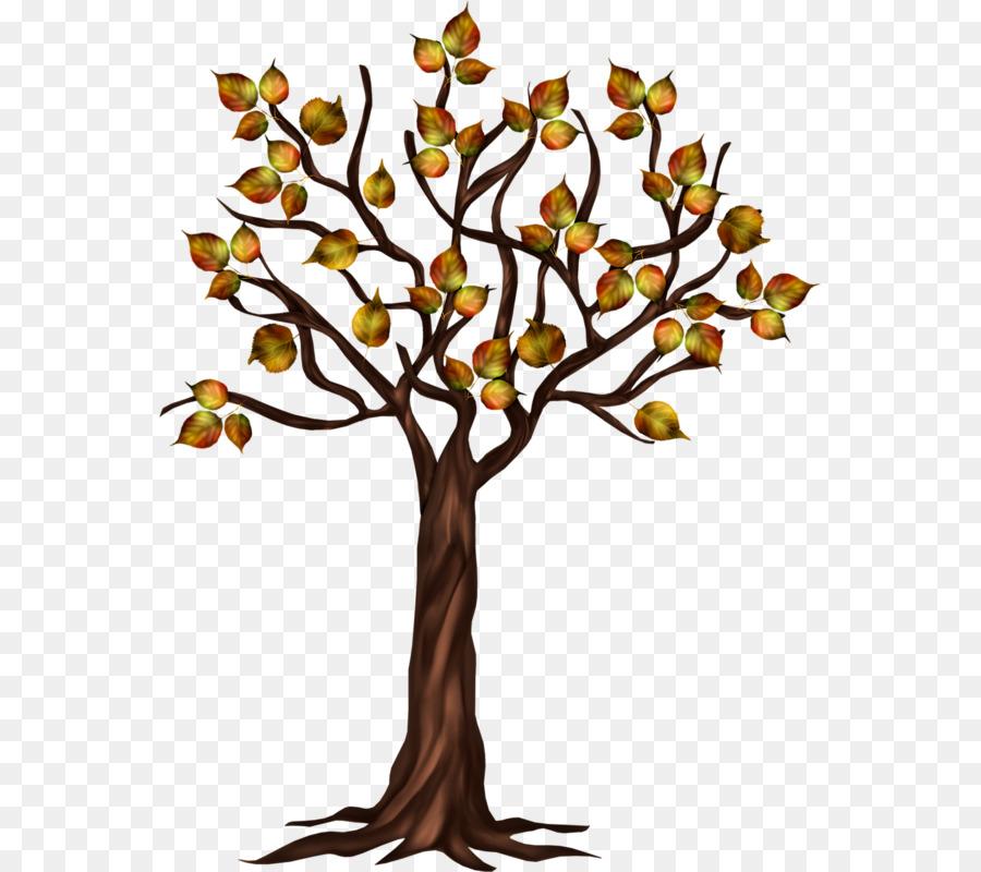 Baum Herbst Hand Gemalte Baume Im Herbst Png Herunterladen