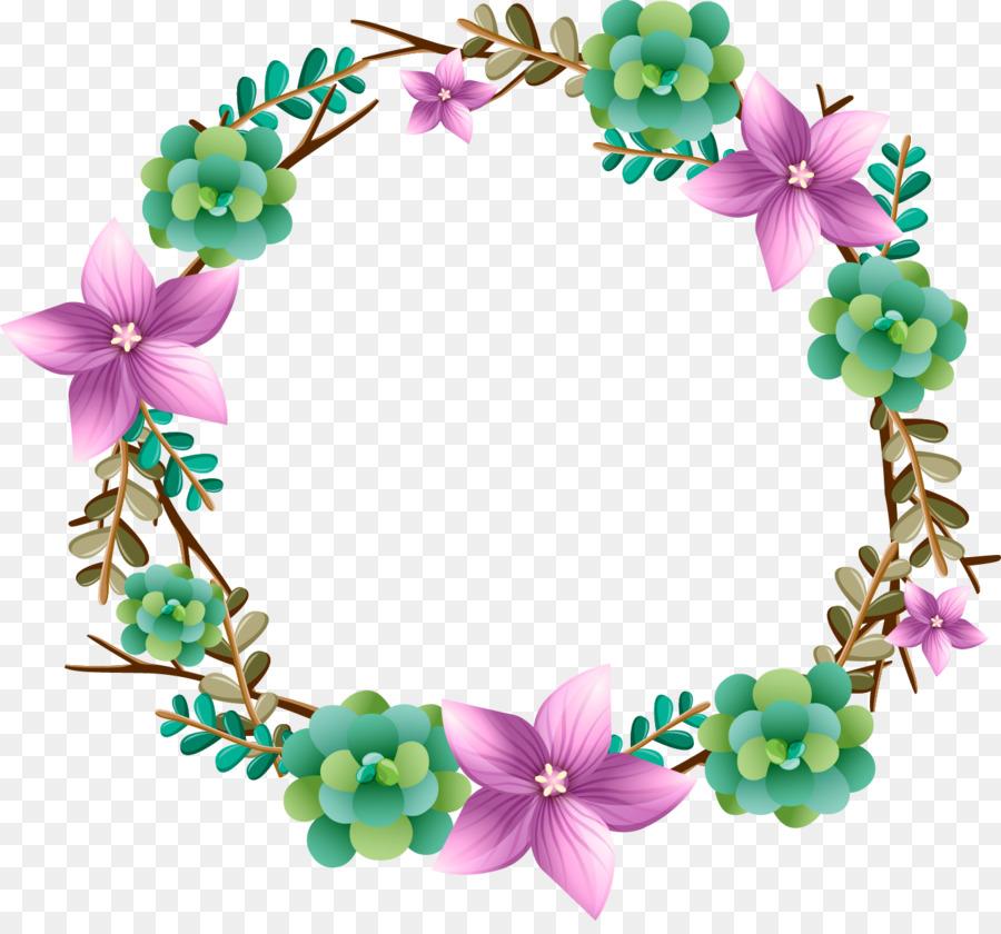 Floral Wedding Invitation Background Png Download 1343