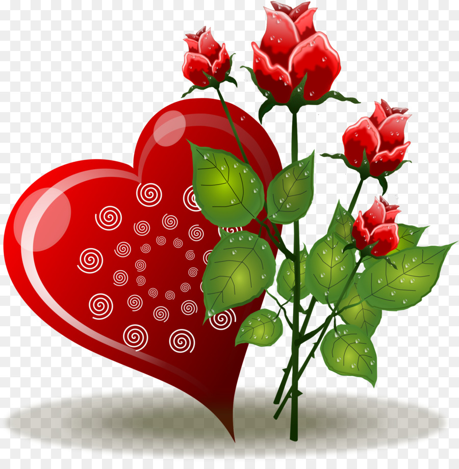 Rose Love Flowers Png Download 1896 1920 Free Transparent Heart Png Download Cleanpng Kisspng