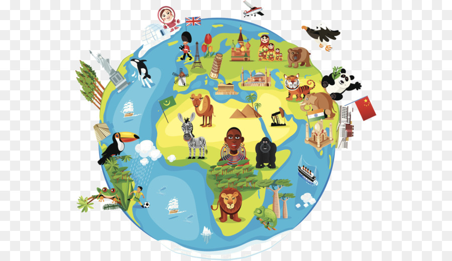Earth Cartoon Drawing Png Download 600 519 Free Transparent