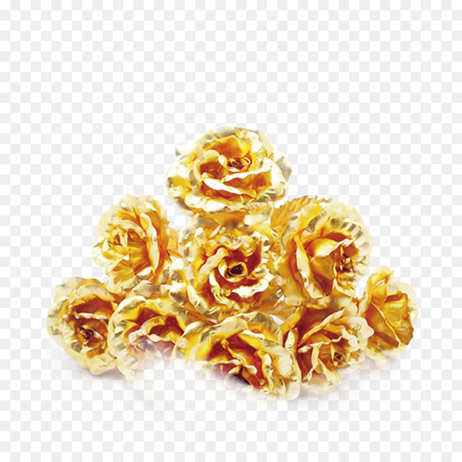 Strand Rose Gold Hochzeit Goldene Rose Png Herunterladen