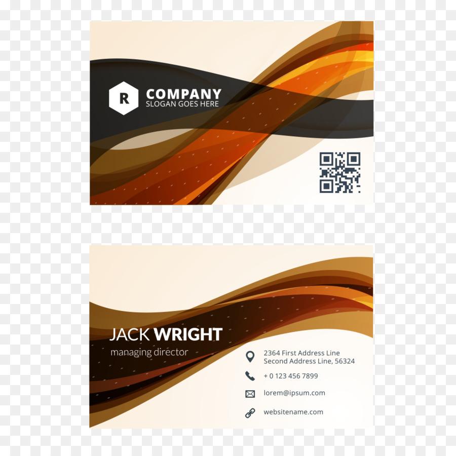 Visitenkarte Design Visitenkarten Flaches Design