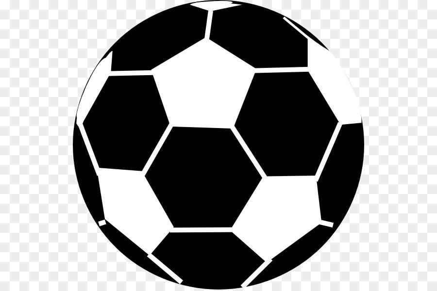 Fussball Schwarz Und Weiss Clipart Vektor Fussballball Png