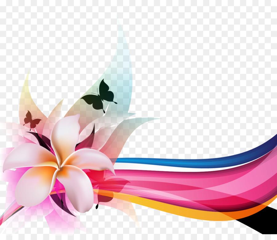 Floral Flower Background Png Download 1302 1108 Free