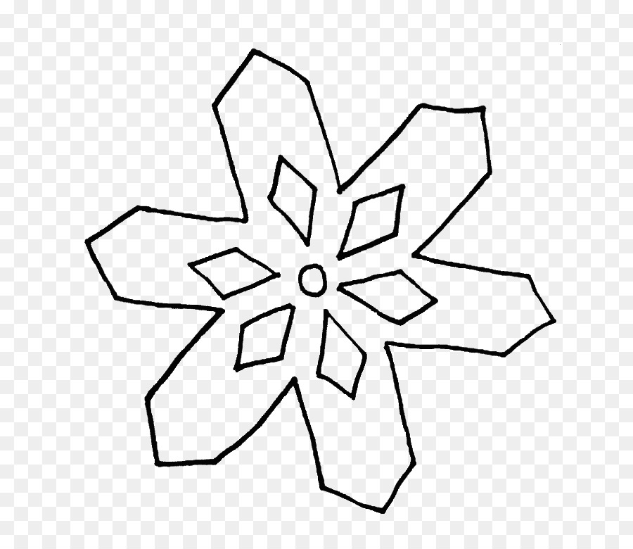 Black And White Flower Png Download 700 771 Free Transparent