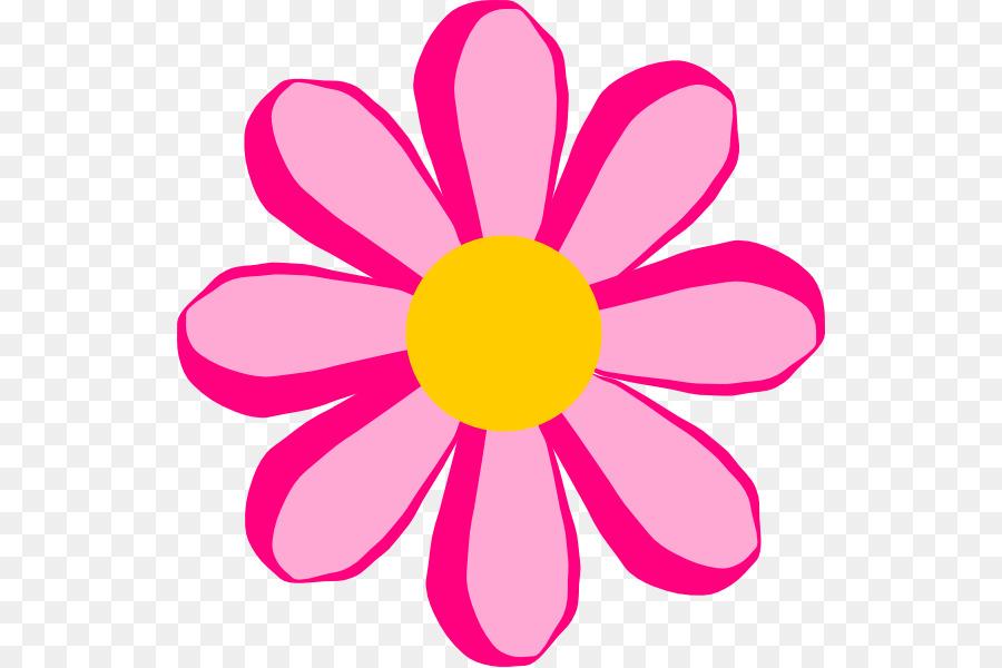 Pink Flower Cartoon Png Download 582 599 Free Transparent