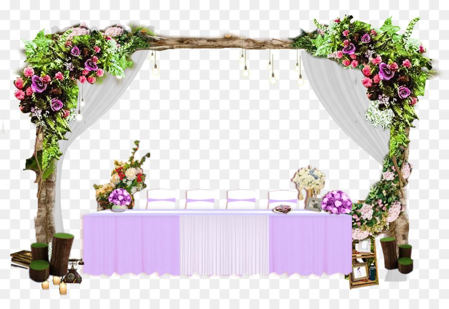 Wedding Background Frame Png Download 22241512 Free