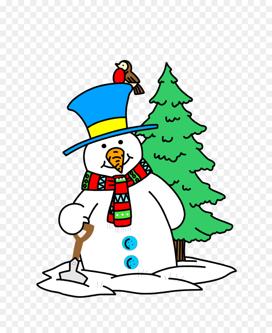 ранних картинки мультяшного снеговика с елкой элементы