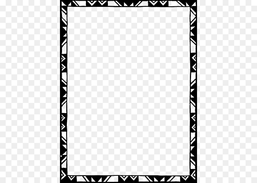 Black And White Frame Png 480 640 Free