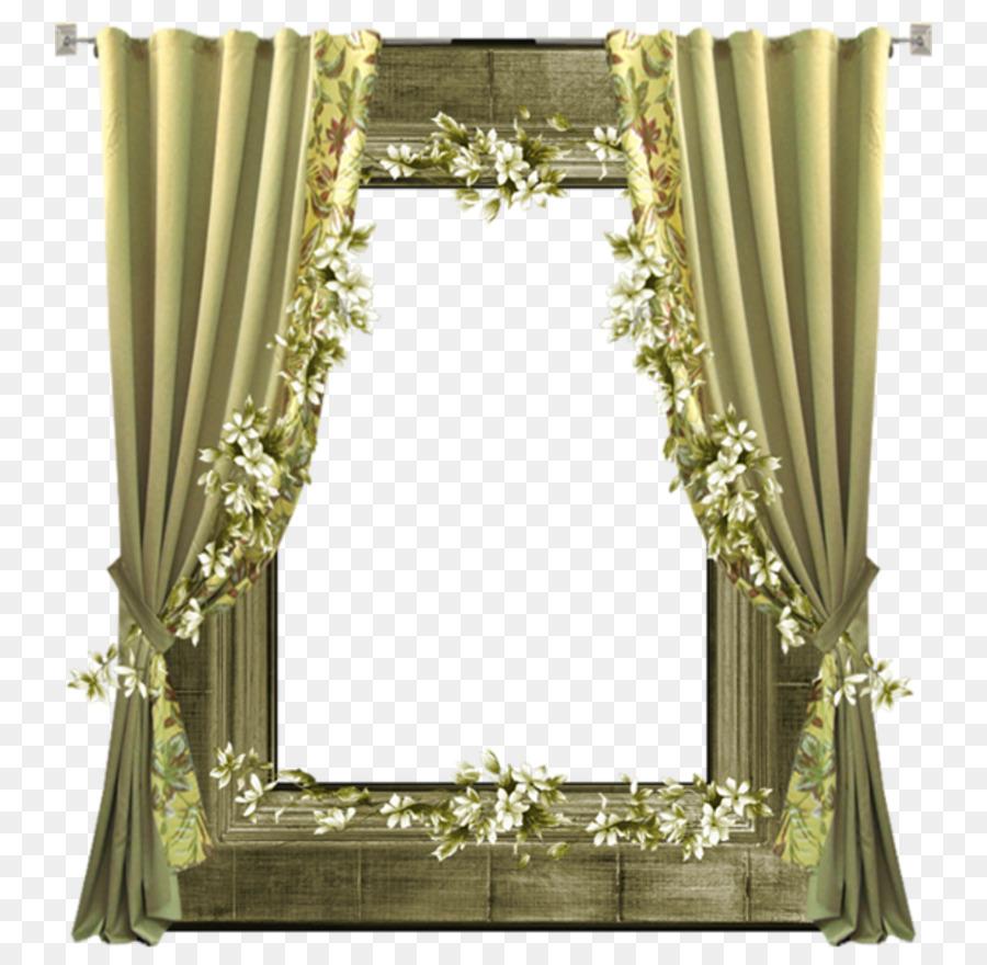 Fenster, Vorhang, Bilderrahmen, Bad - Rahmen Vorhang ...