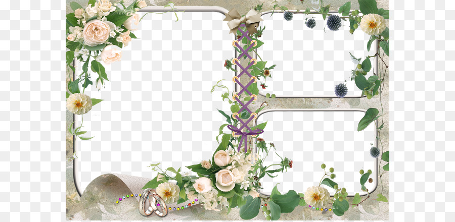 Wedding Background Frame Png Download 640437 Free