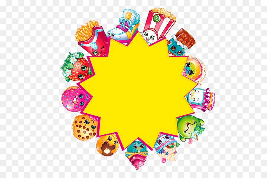 Shopkins Pretzel Birthday Food, sugar lump, grocery Store, bread, party png  | Klipartz