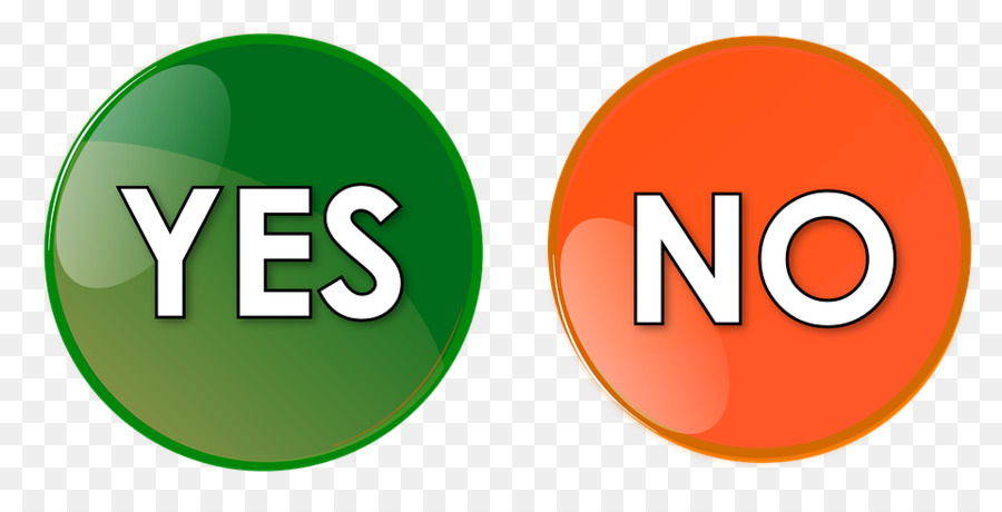 Yes Clipart - Yes No Icon Png, Cliparts & Cartoons - Jing.fm