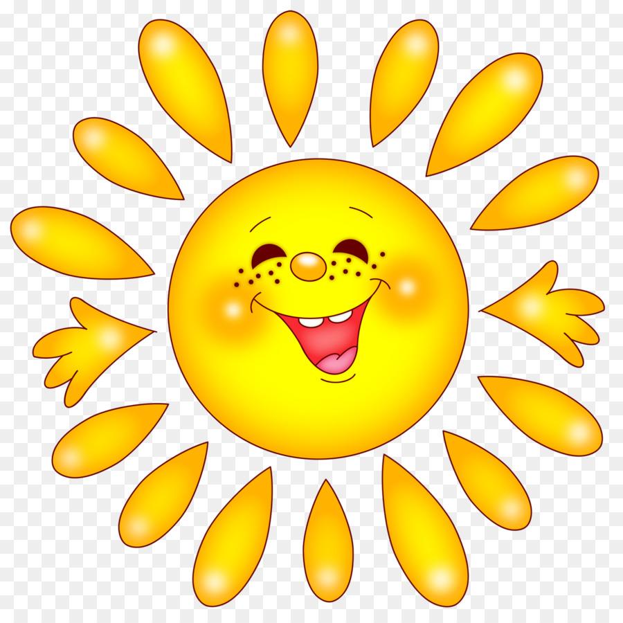 Smiley Emoticons Emoji clipart - Sonne png herunterladen