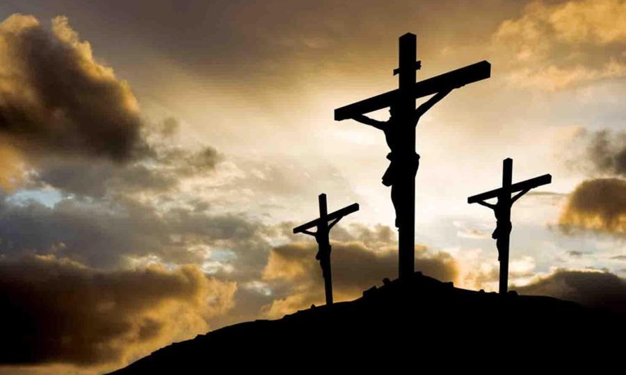 Karfreitag Ostern Kirche Kreuzigung von Jesus das Christentum ...