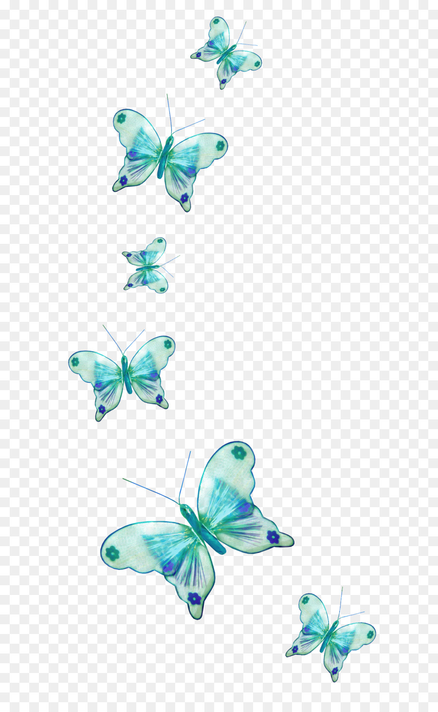 Butterfly Flower Png Download 7001444 Free Transparent