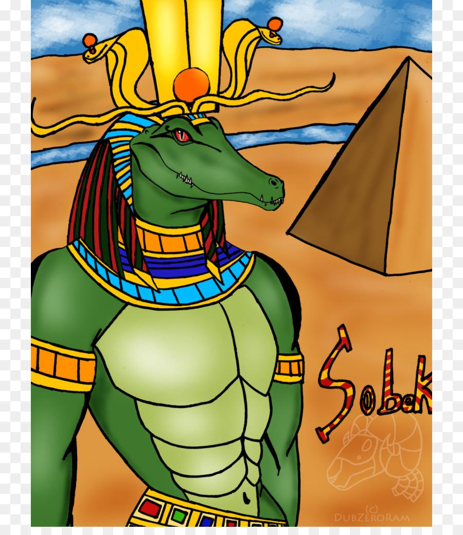 Coccodrillo Tempio di Kom Ombo Antico Egitto Dio Sobek - divinità egizie scaricare png - Disegno png trasparente Arte png scaricare.