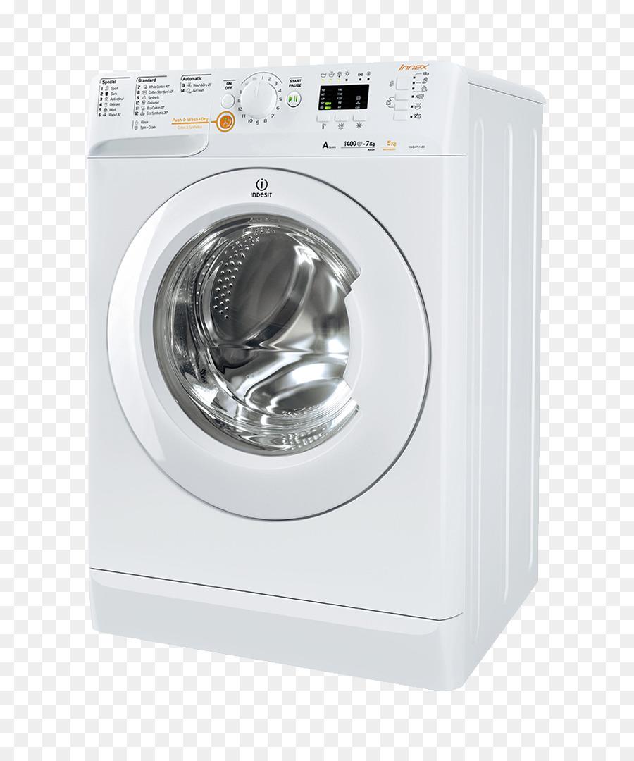 Máy giặt Combo máy sấy máy giặt quần Áo máy sấy Indesit Co. Nhà thiết bị -  máy giặt png tải về - Miễn phí trong suốt Quần áo Máy Sấy png