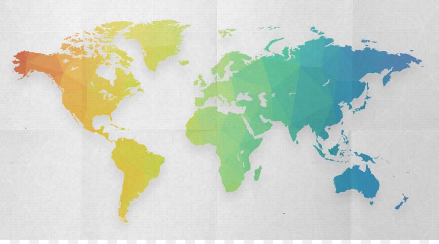 Frankreich Malta USA Hong Kong World - Weltkarte png ...