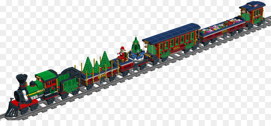 Lego Christmas Train.Christmas Tree Background Png Download 1591 708 Free