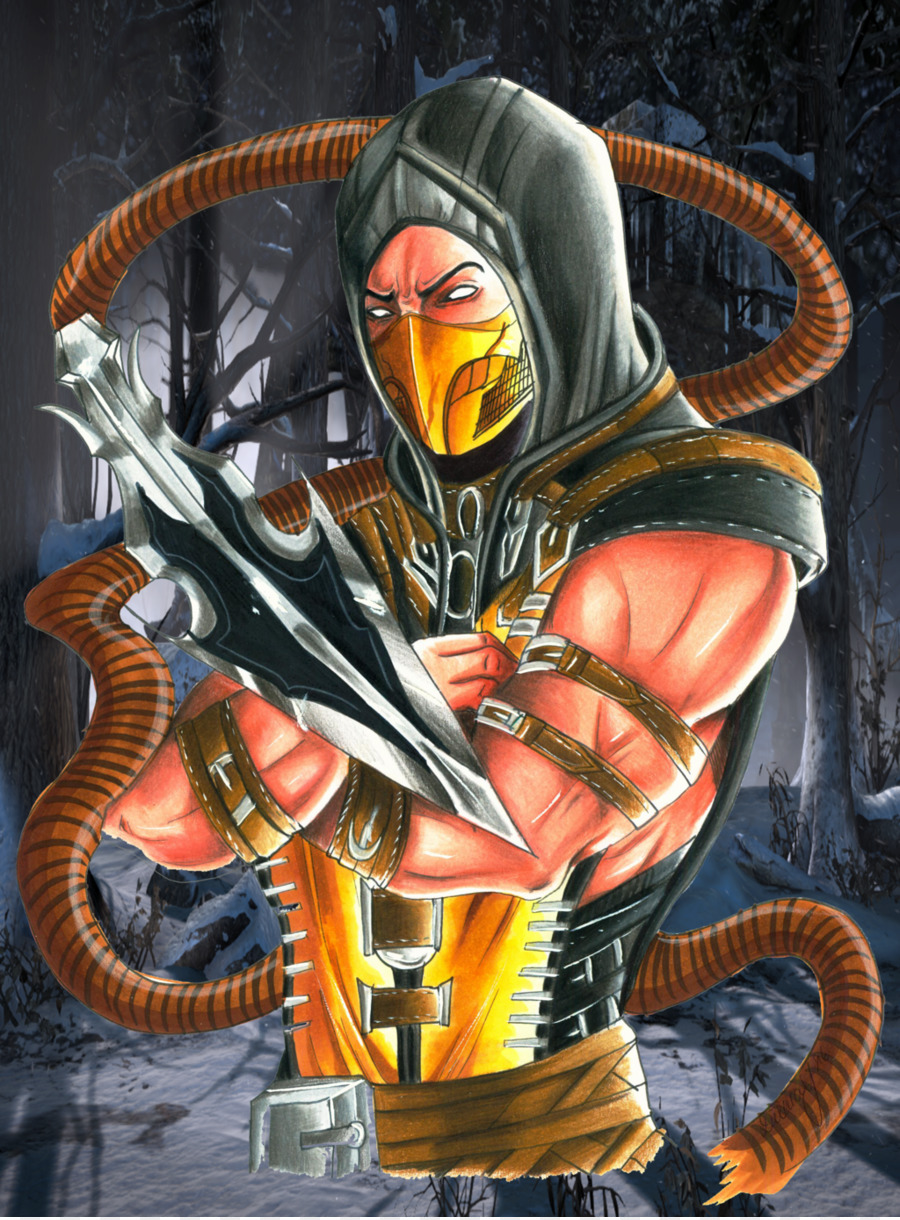 Mortal Kombat X Action Figure Png Download 1024 1385 Free