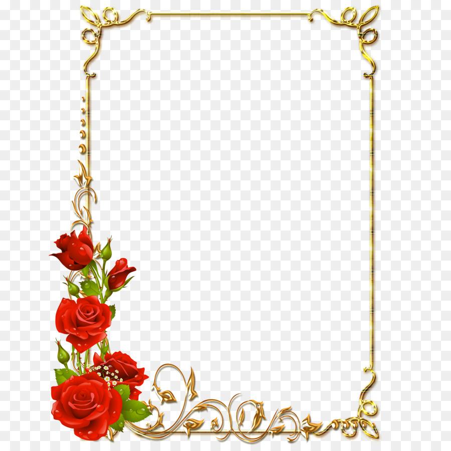 Floral Background Frame Png Download 5000 5000 Free