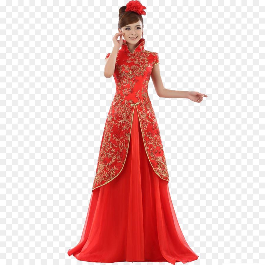 Vestiti Da Sposa Cinesi.Abito Da Sposa Cinese Sposa Matrimonio Cheongsam Matrimonio