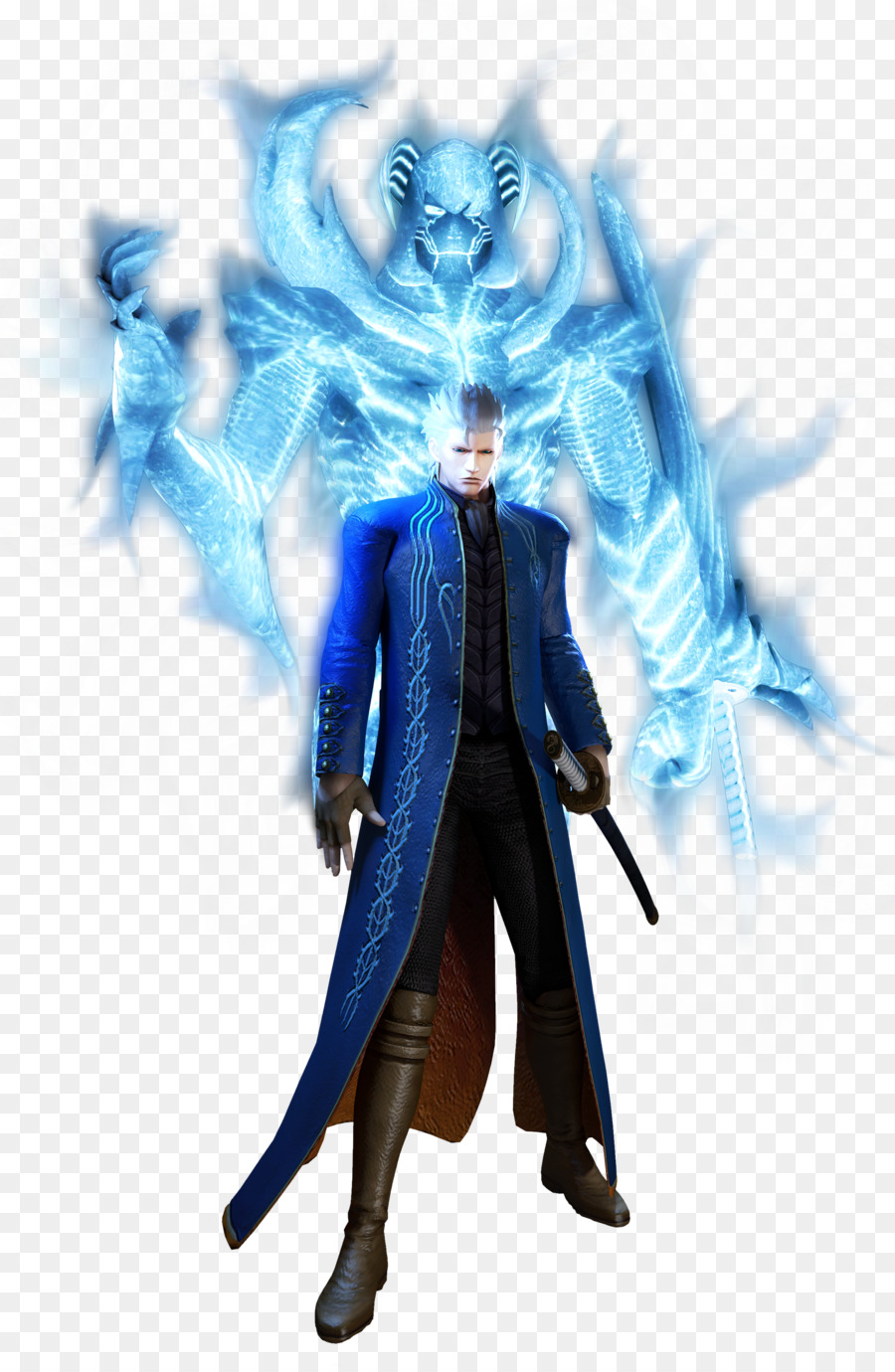 Devil May Cry 3 Dante S Awakening Figurine Png Download