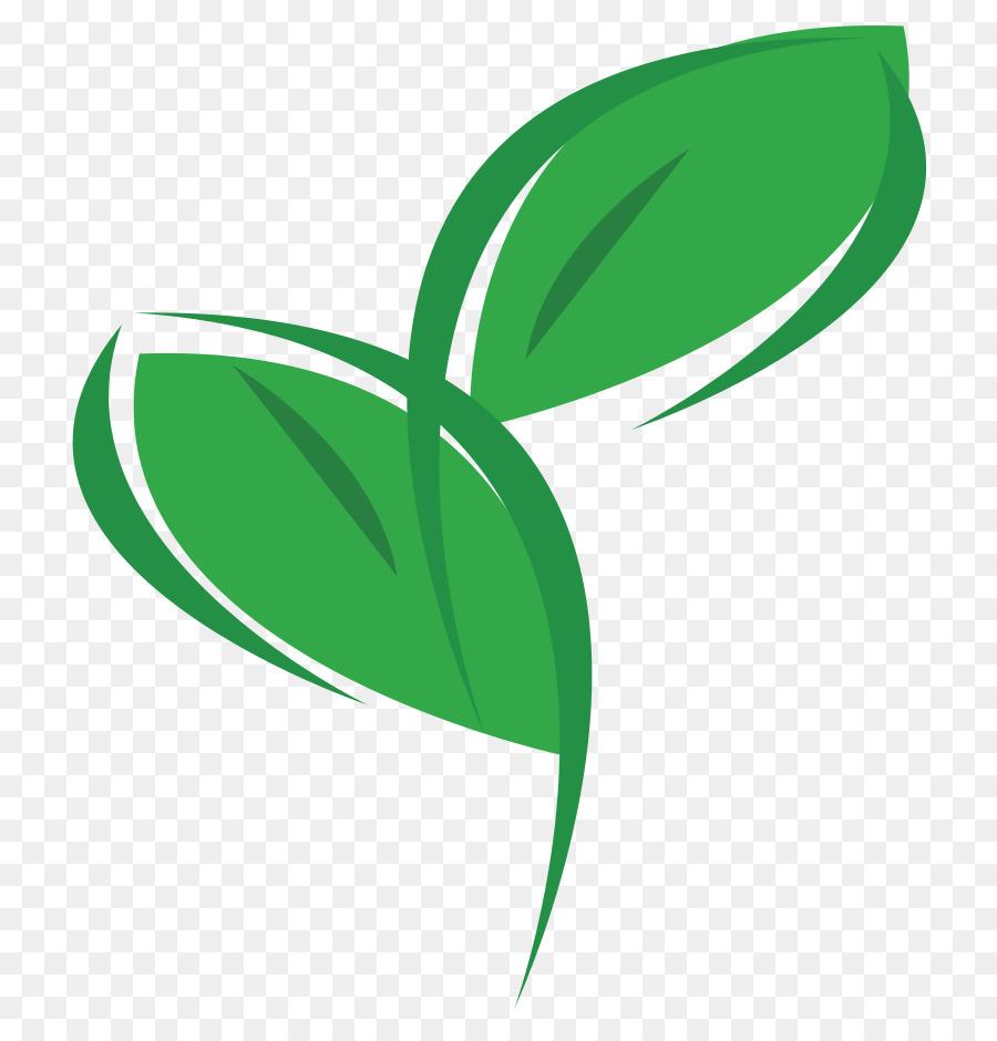 Green Leaf Logo Png Download