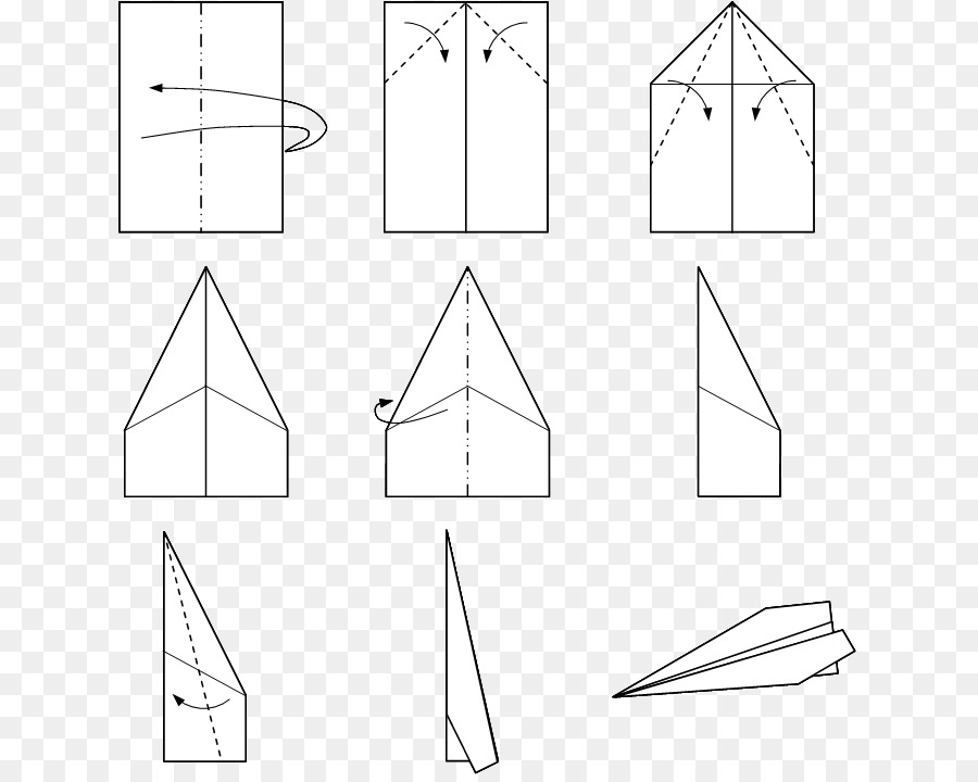 Paper Airplane Drawing Png Download 681 715 Free Transparent