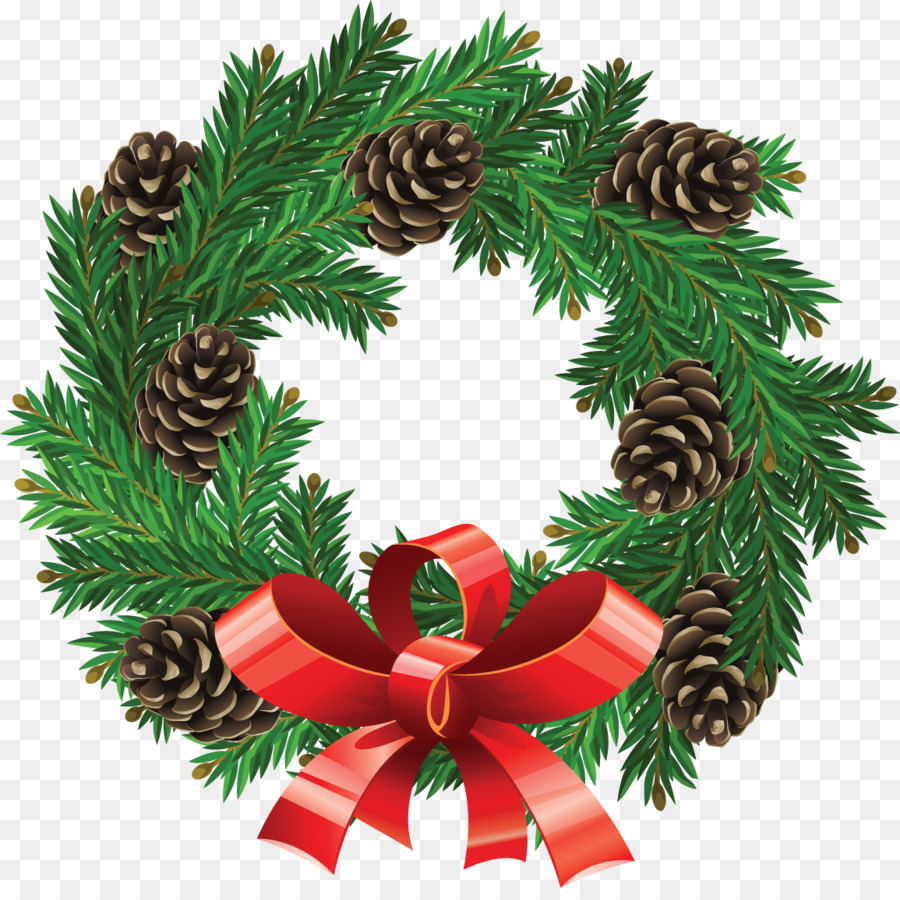 Christmas Garland Drawing.Christmas Wreath Drawing Png Download 1155 1139 Free