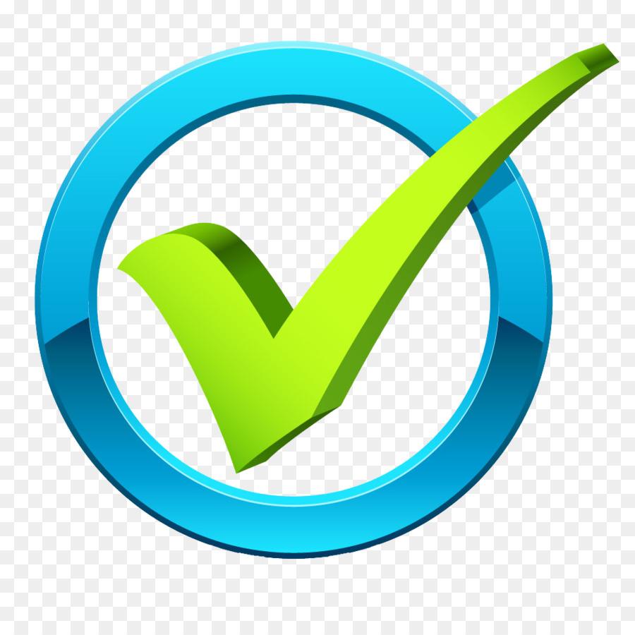 Haken symbol png grüner check clipart