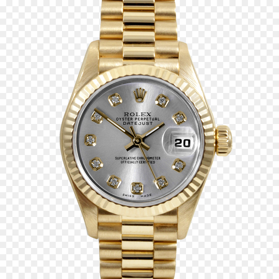 Gold Watch png download , 1000*1000 , Free Transparent Rolex